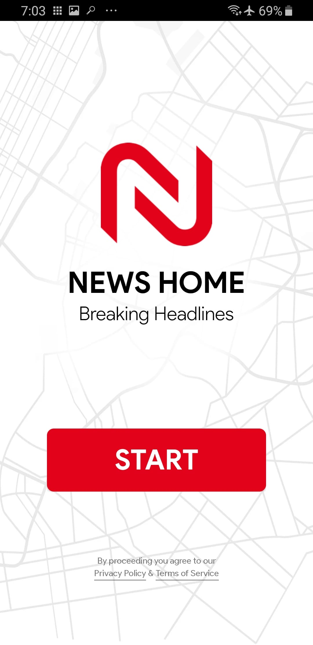 Screenshot From Our News Home: Breaking News, Local & World News Today Review